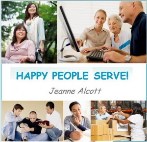 Image of HAPPY PEOPLE SERVE! CD -- Airing February 26 - March 2, 2018