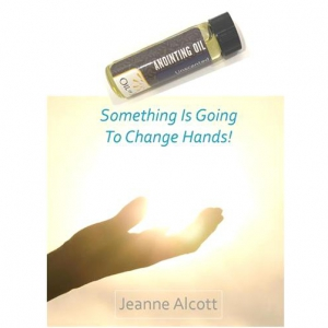 Image of Anointing Oil Vial and Something Is Going To Change Hands! CD
