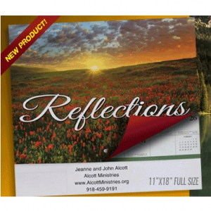 Image of 2019 Reflections Wall Calendar With Daily Scripture