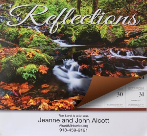 Image of 2020 Reflections Wall Calendar With Daily Scripture