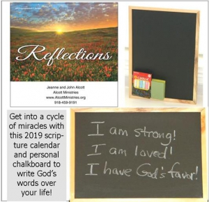 Image of Personal Chalkboard/2019 Reflections Calendar