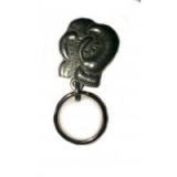 Image of HOAC Metal Boxing Glove Key Ring