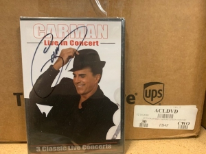 Image of AUTOGRAPHIED CARMAN LIVE IN CONCERT DVD