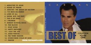 Image of Best of Carman CD Volume 1