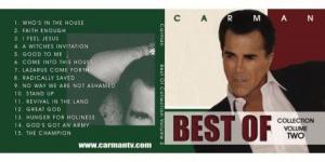 Image of Best of Carman CD Volume 2