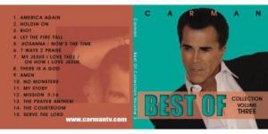 Image of Best of Carman CD Volume 3