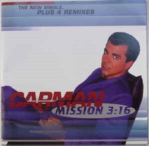 Image of Mission 3:16 Single CD (Plus 4 Remixes)