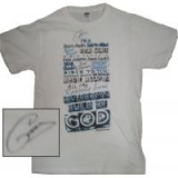 Image of Autographed Child Of God Electric Blue T-shirt Medium