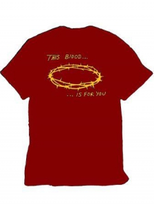 Image of This Blood Is For You Red T-Shirt XL