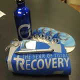 Image of Total Recovery Resource Package with  Large  T-Shirt