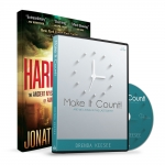 Image of The Harbinger Book and Make It Count CD