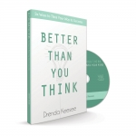 Image of Better Than You Think Book with CD - Drenda Keesee