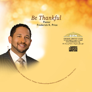 Image of Be Thankful CD