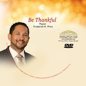Image of Be Thankful DVD