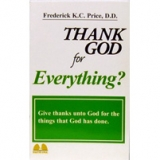Image of Thank God For Everything (Mini-Book)