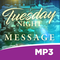 Image of Tuesday Evening Bible Study 010819 MP3