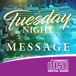 Image of Tuesday Night Message CD 10-01-19