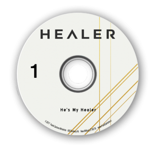 Image of He's My Healer Single CD