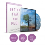 Image of Better Than You Feel Book, Your Words CD Set, and Motivational Window Clings