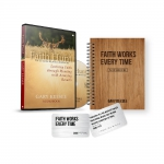 Image of Faith Hunt Audio Book, Faith Works Every Time Notebook and Card