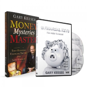 Image of Money Mysteries Book & 10 Financial Keys CDs