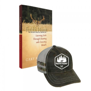 Image of Faith Hunt Book and Faith Hunt Hat Package