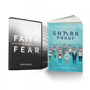 Image of Faith Over Fear and Sharkproof Package