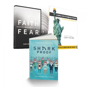 Image of Faith Over Fear, Sharkproof, Nine Steps Package