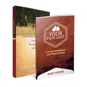 Image of Faith Hunt Book and Devotional Package