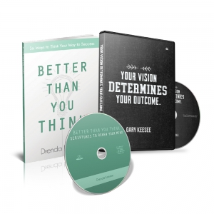 Image of Your Vision Determines Your Outcome and Better Than You Think package