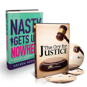 Image of Cry for Justice and Nasty Gets Us Nowhere Book