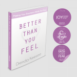 Image of Better Than You Feel Book & Motivational Window Clings