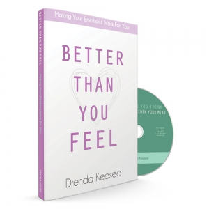 Image of Better Than You Feel Book & Better Than You Think Scripture CD
