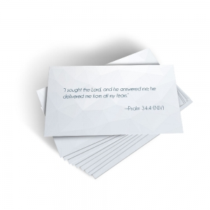 Image of Freedom From Fear Scripture Cards