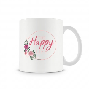 Image of Happy Life Mug