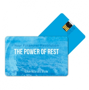Image of Your Financial Revolution: The Power of Rest - 11 part USB Jump Drive with audio and video