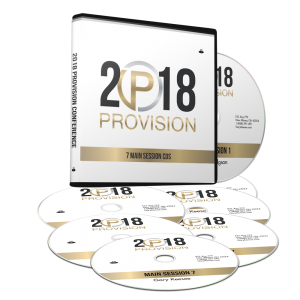 Image of Provision 2018 Main Session CDs