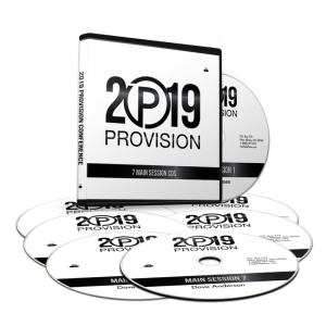Image of Provision 2019 Main Sessions on CD