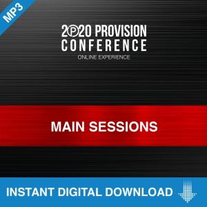 Image of Provision 2020 Main Session MP3 and Bonus MP3