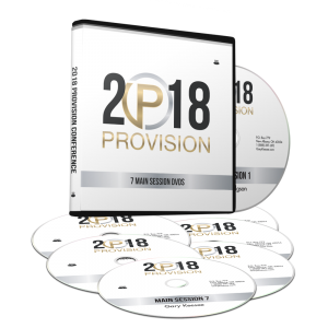 Image of Provision 2018 Main Session DVDs