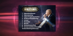 Image of 10 Blessings Reference Card