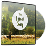 Image of The Final Say CD