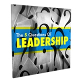 Image of Five Questions To Leadership CD