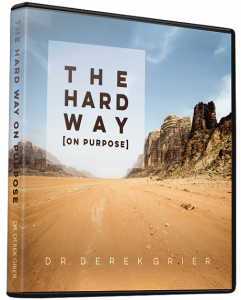 Image of The Hard Way on Purpose CD