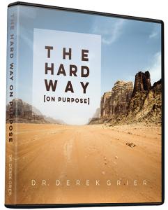 Image of The Hard Way on Purpose CD