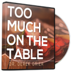 Image of Too Much on the Table Broadcast CD