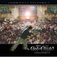 Image of Where is The God of Elijah - Journals Episode 1 - Worship CD