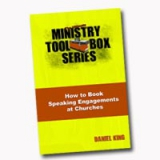 Image of How to Book Speaking Engagements at Churches Book