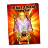 Image of The Heart of The King Coloring Book