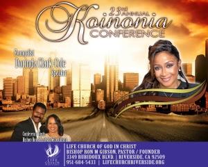 Image of 2018 Koinonia Conference - Evangelist Dorinda Clark-Cole - DVD